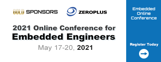 ZEROPLUS 2021 Embedded Online Conference